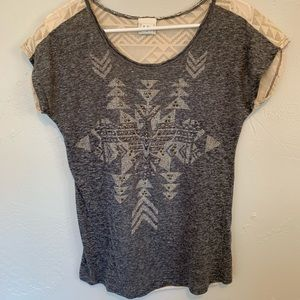 Buckle Daytrip Aztec studded shirt